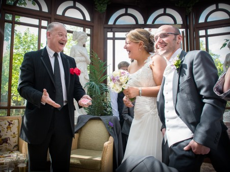Wedding magic at the Galgorm
