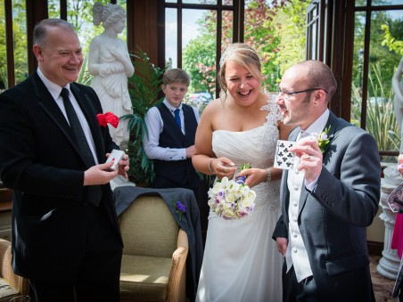 Wedding magic at the Galgorm