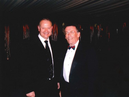 Trevor with Actor Elliott Gould