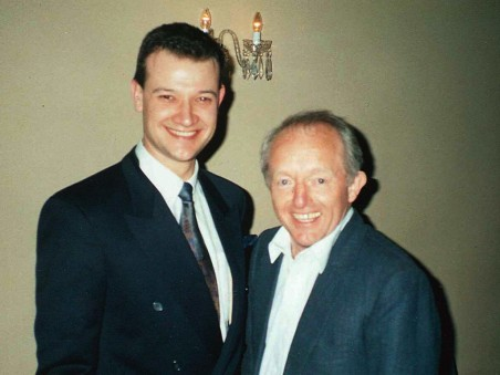 Trevor with  Magician Paul Daniels